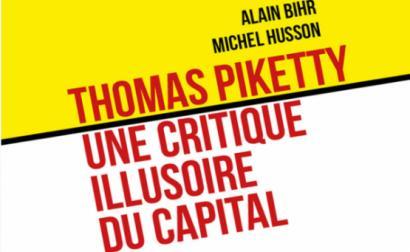 """Thomas Piketty, Une critique illusoire du capital"", livro escrito por dois economistas marxistas, Alain Bihr e Michel Husson, que será publicado por edições Syllepse, Paris e Page 2, Lausanne – Foto de alencontre.org"
