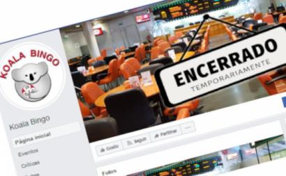 Página da Bingo Koala no Facebook. Foto da CGTP.
