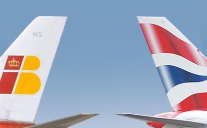 British Airways e Iberia, por Scott Wright, via https://commons.wikimedia.org/w/index.php?curid=10325620