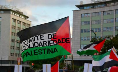 Fotografia: Comité de Solidariedade com a Palestina/Facebook.