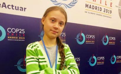Fotografia: página de Instagram de Greta Thunberg