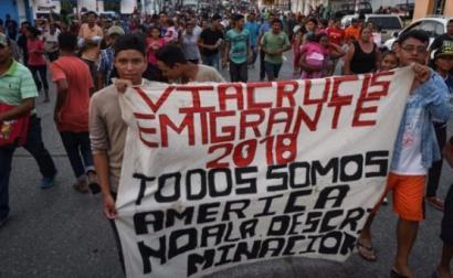 """Para Amarela Varela, """"estas 'caravanas' de milhares de pessoas que hoje percorrem o México são uma nova forma de luta migrante ou um novo tipo de movimento social"""""""