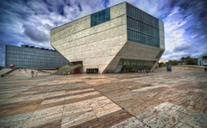Casa da Música, no Porto.