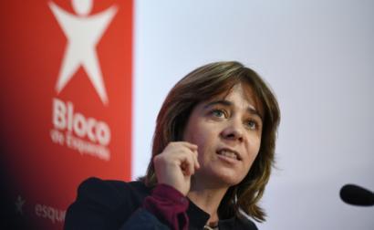 Catarina Martins apresenta proposta bloquista para salvar a lei de bases de saúde – Foto de Paula Nunes