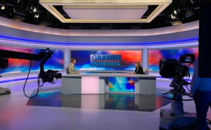 Catarina Martins foi entrevista pelo jornalista Vítor Gonçalves no programa Grande Entrevista da RTP3