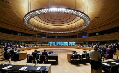 Reunião dos chefes de dipomacia dos governos da UE