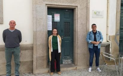 Uma delegação do Bloco de Esquerda de Vila Real, com a presença da deputada Maria Manuel Rola, reuniu com a representação da ACT no distrito