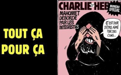 Edição do Charlie Hebdo de quarta-feira, dia 2 de setembro.