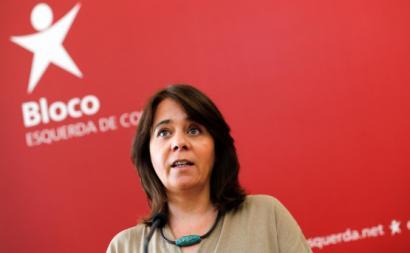 Catarina Martins. Foto de António Cotrim, Lusa.