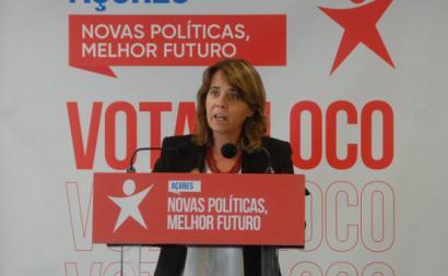 Catarina Martins nos Açores