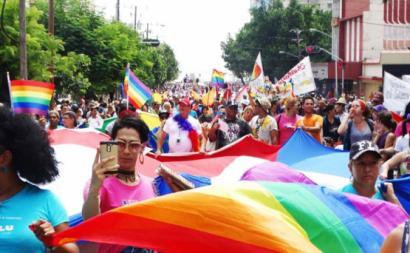 Marcha LGBT em Havana de 2017