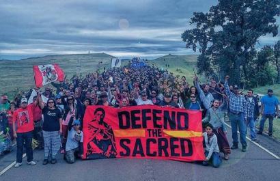 Os protestos das populações levou à suspensão da construção do oleoduto. Foto Midia Global