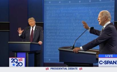 Debate Trump vs Biden