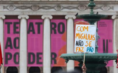 Manifesto pela Cultura, abril 2018, foto Manuel Almeida/Lusa