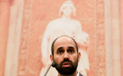 Pedro Filipe Soares. Foto de Tiago Petinga/Lusa.