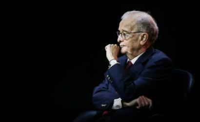 Jorge Sampaio na sessão evocativa dos 30 anos do Moderno Planeamento Estratégico de Lisboa, que foi introduzido durante o seu primeiro mandato na Câmara Municipal.