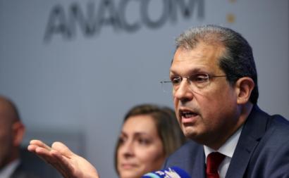 João Cadete Matos, presidente da ANACOM. Foto de MANUEL DE ALMEIDA/LUSA.