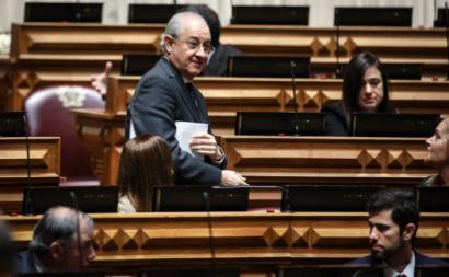 Rui Rio no debate sobre estado de emergência. Foto de ANDRÉ KOSTERS/LUSA.
