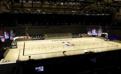 ESPN Wide World of Sports Complex vazio na sequência do boicote ao jogo. Foto de JOHN G. MABANGLO/EPA/Lusa.