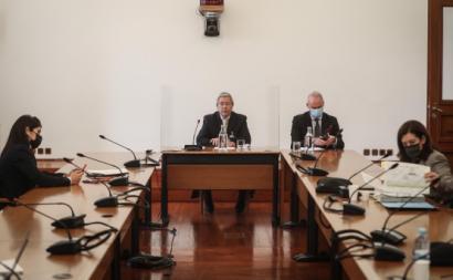 Bernardo Moniz da Maia na Comissão de Inquérito. Foto de Mário Cruz/Lusa.