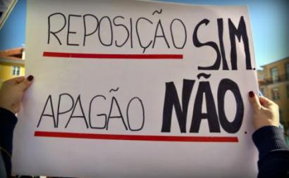 Os professores realizam Manifestação Nacional no próximo dia 23 de março
