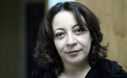 Amira Bouraoui, médica e oposicionista ao regime argelino foi condenada a 18 meses de prisão. Foto: twitter.