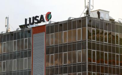 Há unanimidade entre quem trabalha na Lusa contra o corte de 462 mil euros, edifício da agência – Foto de António Cotrim/Lusa