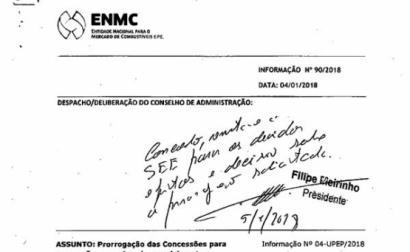 despacho da ENMC