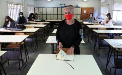 Escola João de Barros, Seixal. Foto de Manuel de Almeida. Agência Lusa.