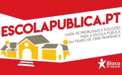 Bloco lança escolapublica.pt
