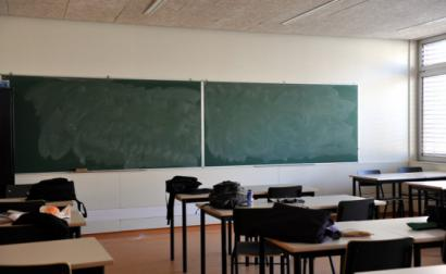 Sala de aulas.