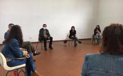 Reunião com trabalhadores da Boch