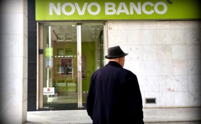 Agência do Novo Banco.