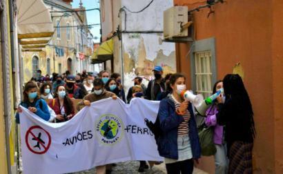 Ação no Montijo realizada pelos núcleos de Lisboa e do Montijo, 23 de abril de 2021 - Foto GCE