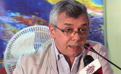 """Gonzalo Gómez: """"O socialismo não se faz com armadilhas"""". Foto de aporrea.org"""