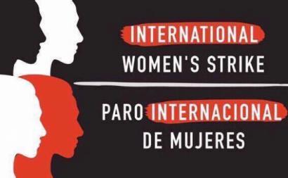 Greve Internacional de Mulheres – Imagem extraída de www.globalwomenstrike.net