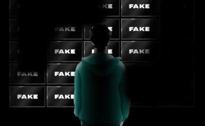 "Ecrã ""Fake"""