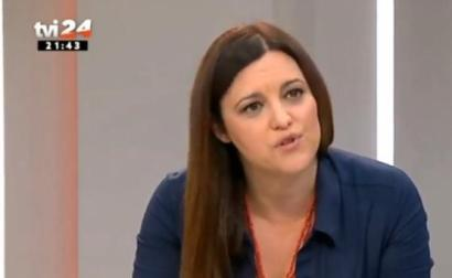 Marisa Matias em entrevista à TVI.