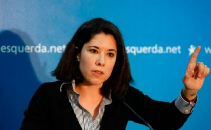 Joana Mortágua - Fotografia de António Pedro Santos Agência Lusa.