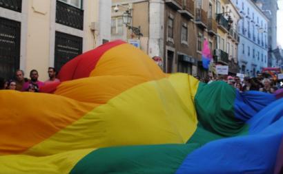 A 17 de maio celebra-se o Dia Internacional de Luta contra a Homofobia, Transfobia e Bifobia - foto de Inês Ferreira