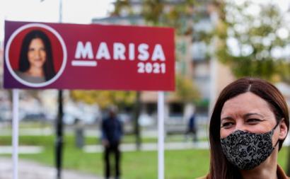 """Marisa destacou o enorme apoio """"particularmente de jovens que deram as suas assinaturas""""."""