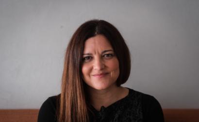 A candidata à Presidência da República Marisa Matias, durante uma entrevista à Lusa, em Lisboa, 12 de dezembro de 2020.