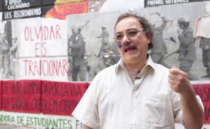 O historiador Sergio Grez. Foto de convergenciamedios.cl.