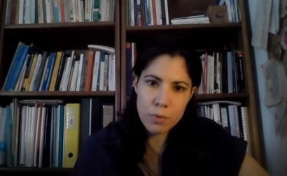 A dirigente do Bloco Mariana Mortágua.