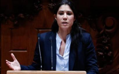 Mariana Mortágua. Foto de António Cotrim, Lusa.