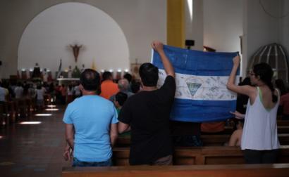 Na Nicarágua, a igreja condena a criminalização dos protestos