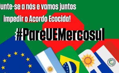 Não ratificar o acordo entre a UE e o Mercosul não é apenas uma questão de evitar o genocídio de diversas comunidades originárias e tradicionais na floresta amazónica. Mas trata-se, também, da preservação da própria vida humana - imagem de Abel Rodrigues/twitter