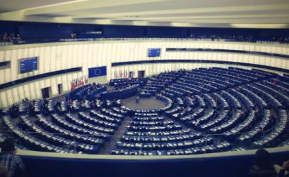 "Parlamento Europeu - ""Hemicycle"" de djsuffix/flickr"