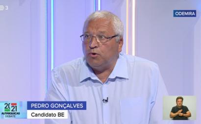 Pedro Gonçalves, candidato do Bloco à Câmara de Odemira.