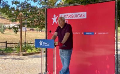Pedro Gonçalves, candidato do Bloco à Câmara de Odemira - Foto de Andreia Quartau